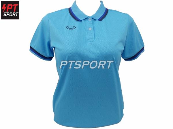เสื้อคอปกโปโลหญิง GRAND SPORT 012-788 สีฟ้า