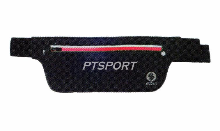 กระเป๋าคาดเอว SPIN BA1003 สีดำชมพู