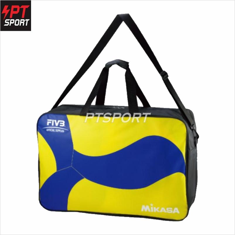 MIKASA กระเป๋าใส่ลูกวอลเลย์บอล BG260W-YB  [บรรจุได้ 6 ลูก]