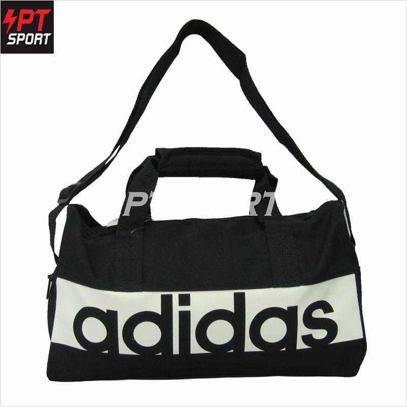 กระเป๋าเดินทาง กระเป๋าสะพายข้าง adidas S-99950 LIN PER TB XS ดำขาว