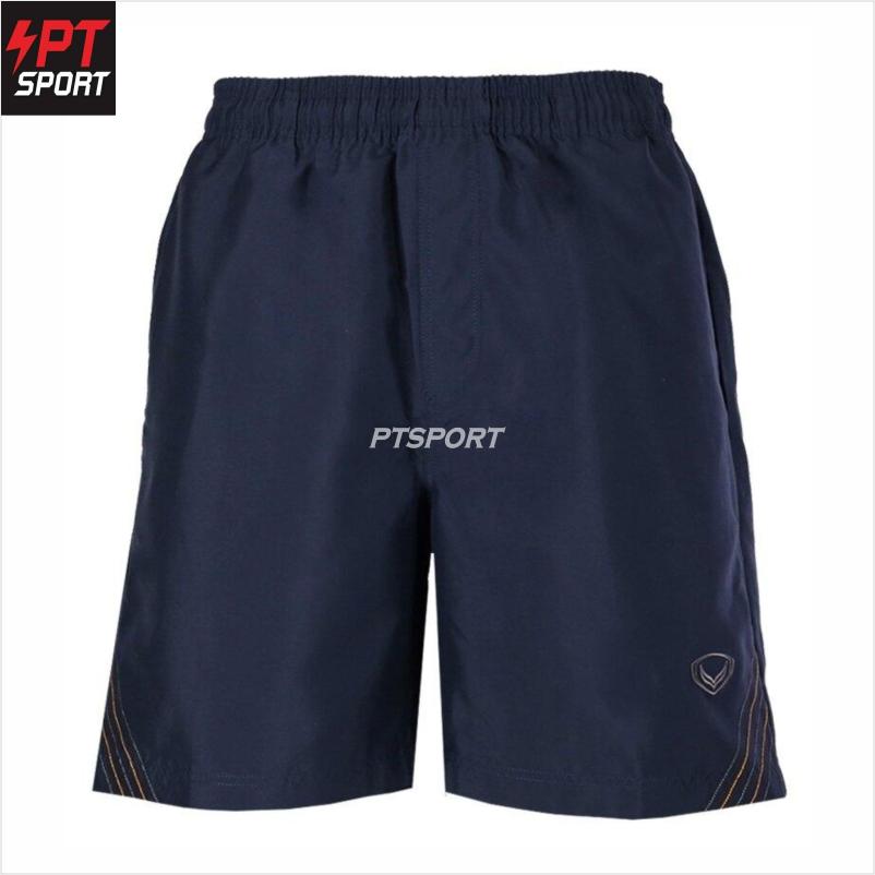 กางเกงผ้าร่มขาสั้น Grand sport รหัส 002-218 กางเกงขาสั้น กางเกงผ้าร่ม กางเกงกีฬาผ้าร่ม สีกรม