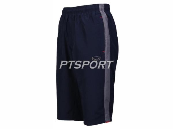 กางเกงกีฬา กางเกงผ้าร่มขา 3 ส่วน GRAND SPORT 002-760 สีกรม