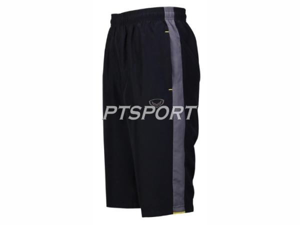 กางเกงกีฬา กางเกงผ้าร่มขา 3 ส่วน GRAND SPORT 002-760 สีดำ