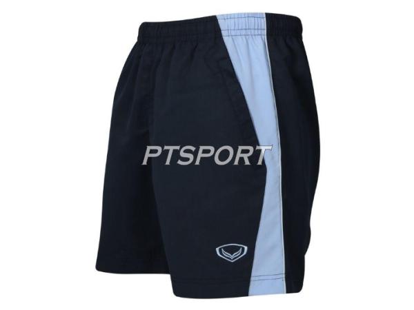 กางเกงกีฬา กางเกงผ้าร่มขาสั้น GRAND SPORT 002-188 สีกรม