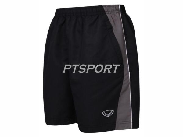 กางเกงกีฬา กางเกงผ้าร่มขาสั้น GRAND SPORT 002-188 สีดำ