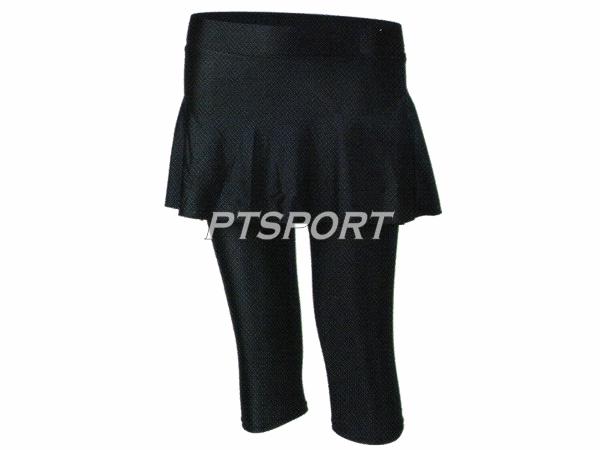 กระโปรงรัดกล้ามเนื้อขา 4 ส่วน SPIN SWD200 สีดำ