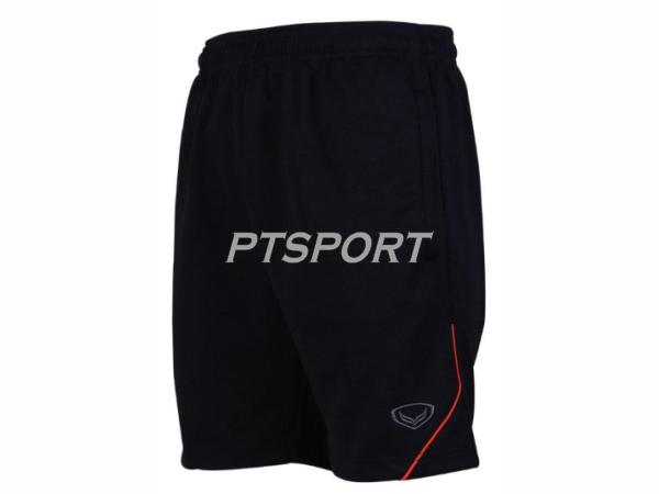 กางเกงกีฬา กางเกงขาสั้น ผ้าวอร์ม GRAND SPORT 002-206 สีดำ