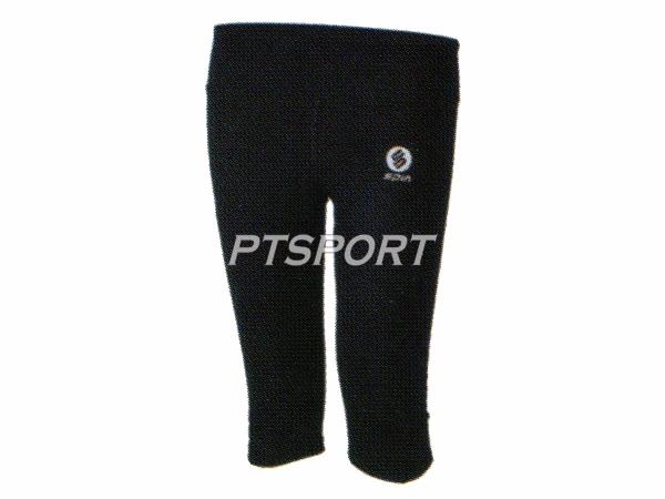 กางเกงกีฬา กางเกงแอโรบิคขาสามส่วน SPIN AP100