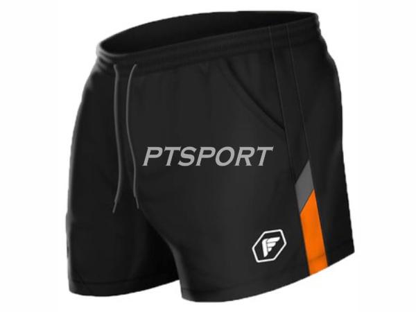 PEGAN กางเกงกีฬาแบดมินตัน 26-19020 สีดำส้ม