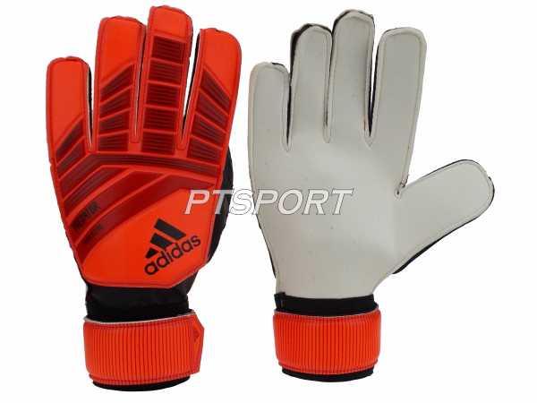 ถุงมือผู้รักษาประตู ถุงมือโกล์ว Adidas DN-8563 PREDATOR TRAINING ไม่มี Finger Save ส้มดำ