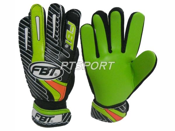 ถุงมือผู้รักษาประตู ถุงมือโกล์ว FBT GG1 เขียว/ดำ