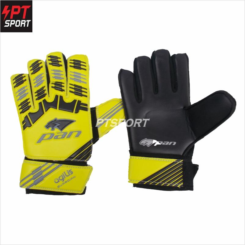 ถุงมือผู้รักษาประตู ถุงมือโกล์ว PAN PV-1544 ไม่มี Finger Save สีเหลืองดำ