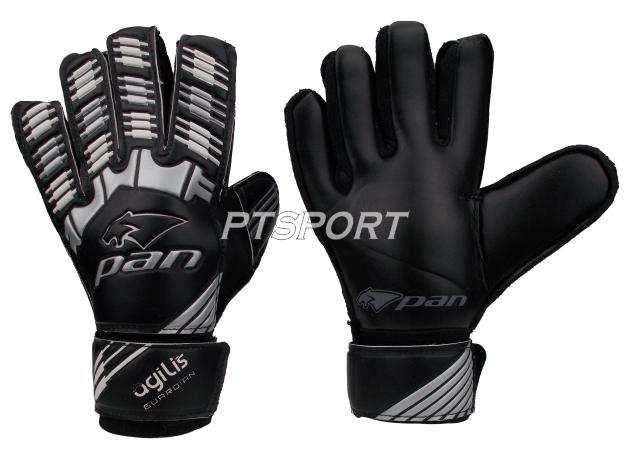 ถุงมือผู้รักษาประตู ถุงมือโกล์ว PAN PV-1544 ไม่มี Finger Save สีดำ