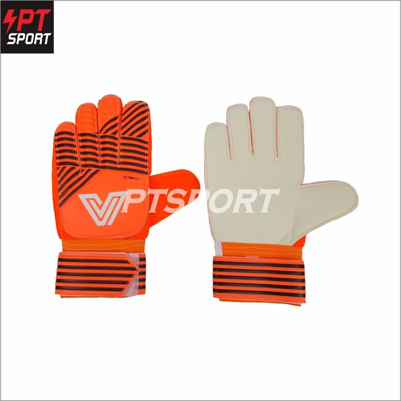 ถุงมือผู้รักษาประตู ถุงมือประตู ถุงมือโกล์ Victory V-MAX สีส้ม