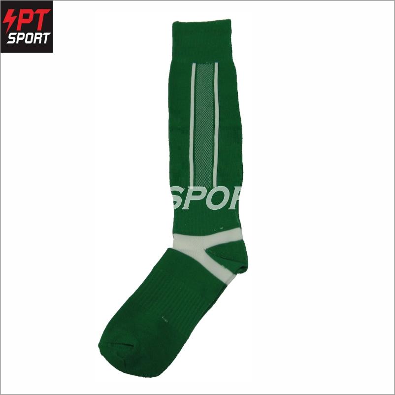 ถุงเท้าฟุตบอล ถุงเท้ากีฬา STANDARD H3 SPORT สีเขียว