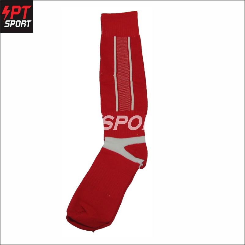 ถุงเท้าฟุตบอลเด็ก ถุงเท้ากีฬา STANDARD H3 SPORT สีแดง