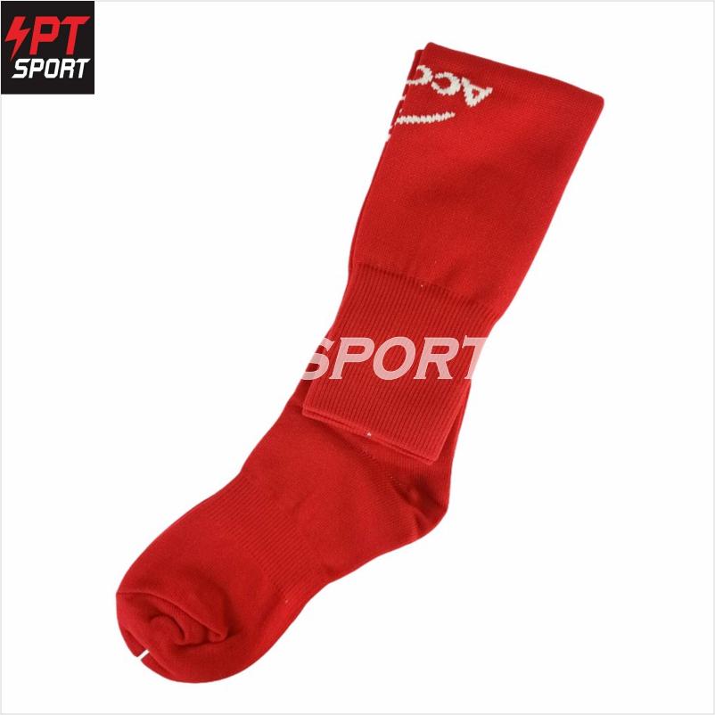 ถุงเท้าฟุตบอล ACONO 24-568 แดง