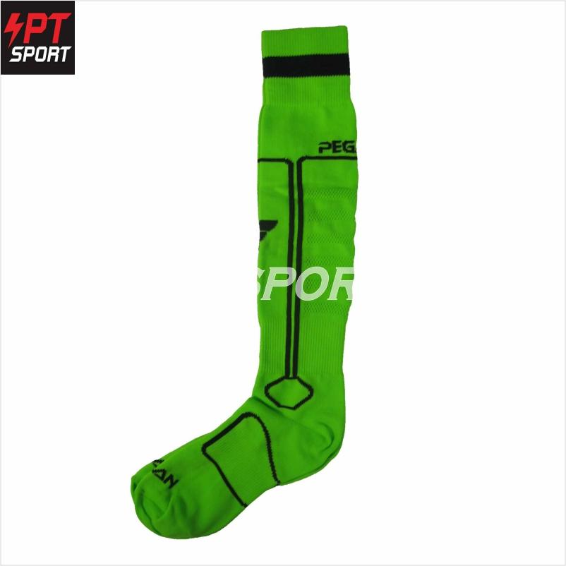 ถุงเท้าบอล PEGAN 33-16007 เขียวดำ