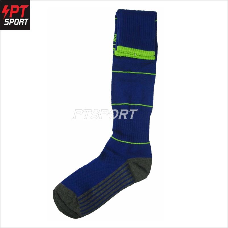 ถุงเท้าฟุตบอล KORONO CO-1 น้ำเงินเขียว
