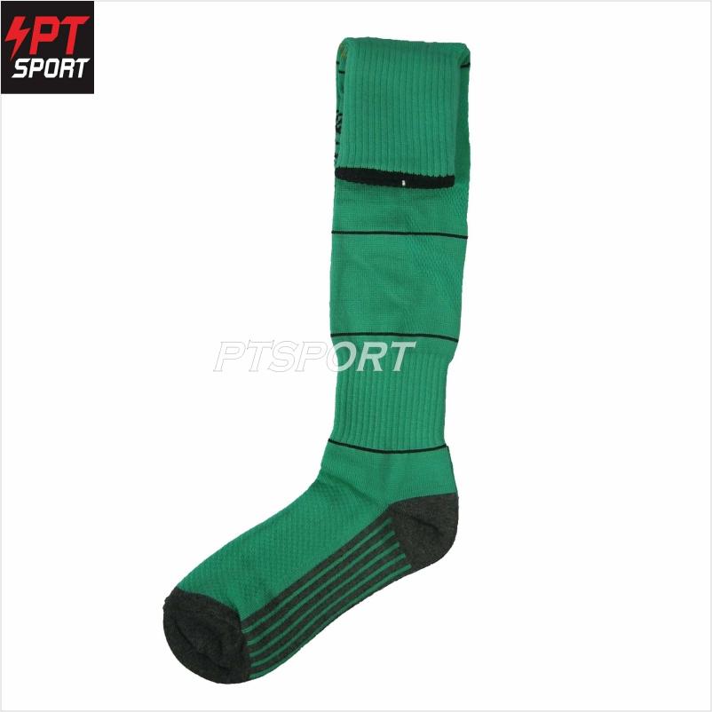 ถุงเท้าฟุตบอล KORONO CO-1 เขียวดำ