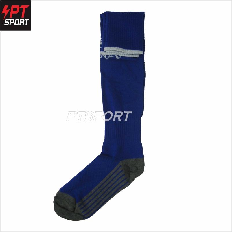 ถุงเท้าฟุตบอล KORONO CO-2 น้ำเงินขาว
