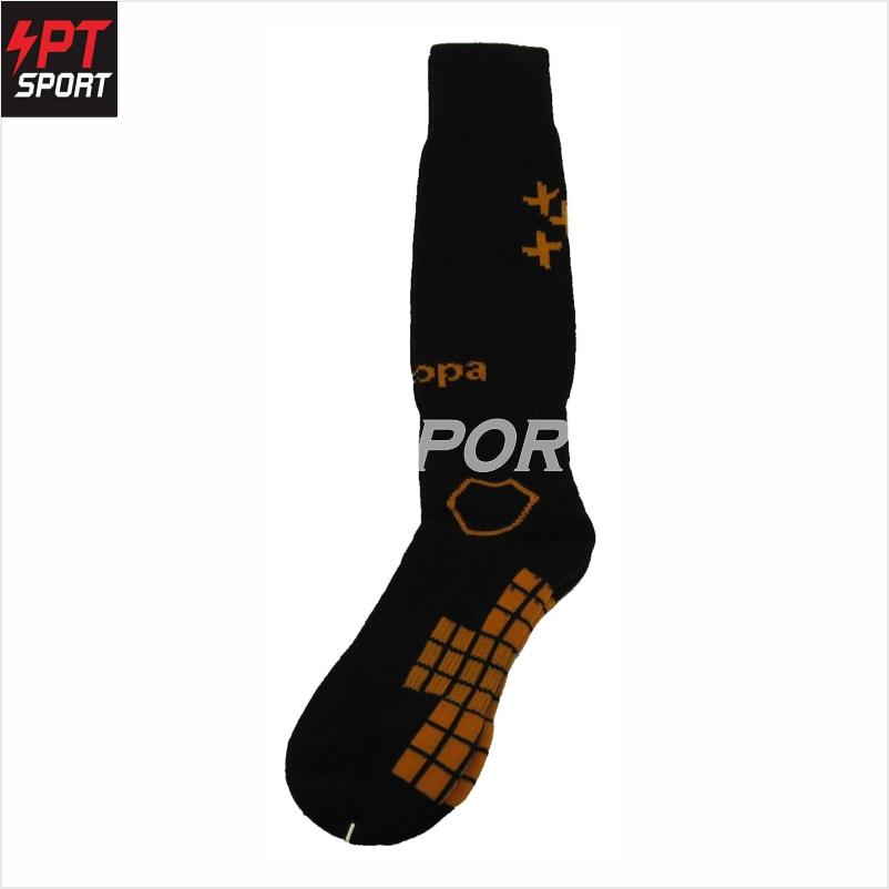 ถุงเท้ากีฬา ถุงเท้าฟุตบอล KAPPA GC-1558 FREE SIZE ดำส้ม
