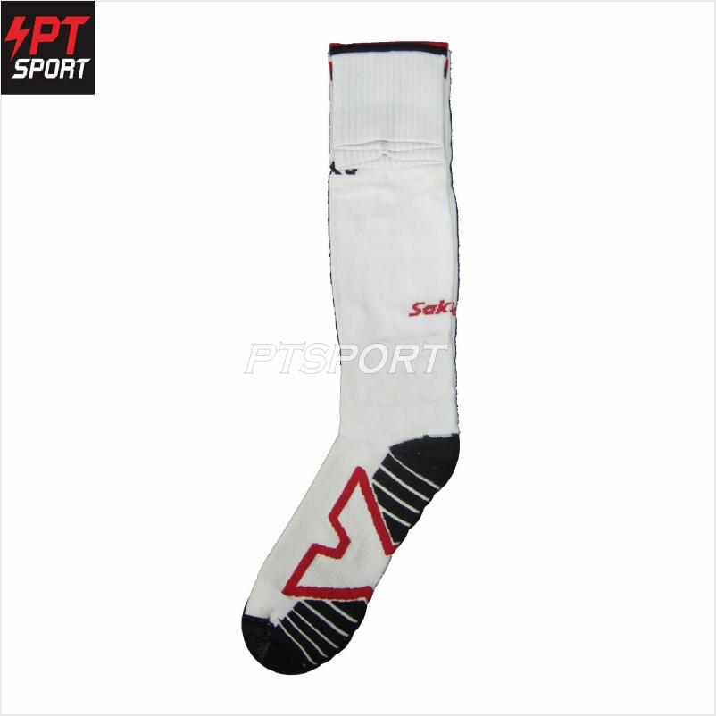 ถุงเท้าฟุตบอล SAKKA 15501 ขาว