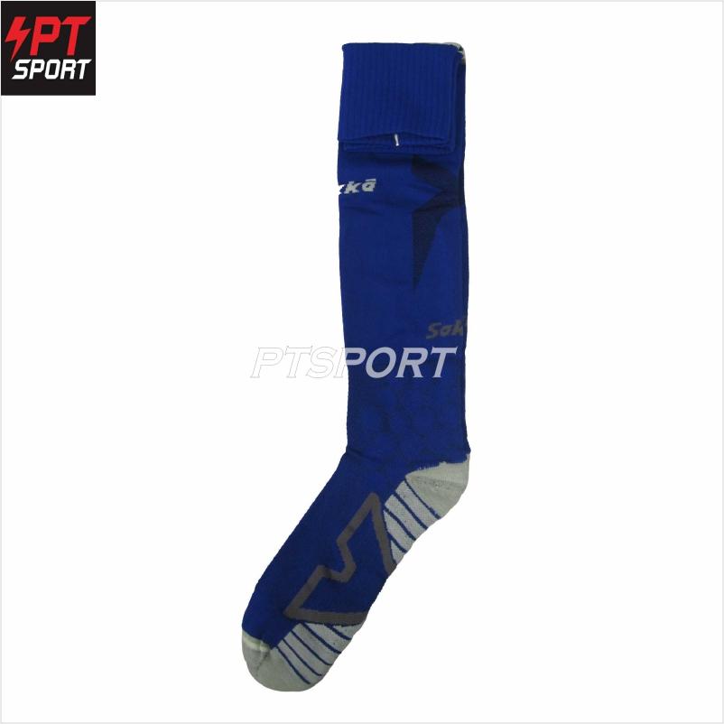 ถุงเท้าฟุตบอล SAKKA 15501 น้ำเงิน