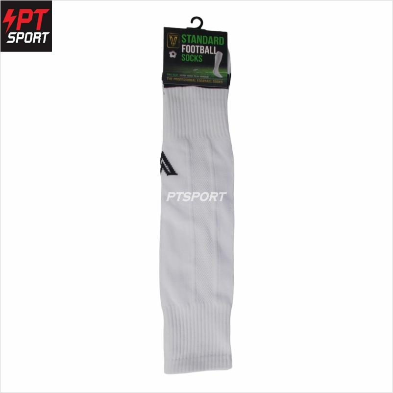 ถุงเท้ากีฬา ถุงเท้าฟุตบอลยาว VICTORY Standard  Free Size ขาว