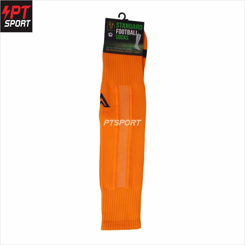 ถุงเท้ากีฬา ถุงเท้าฟุตบอลยาว VICTORY Standard  Free Size ส้ม