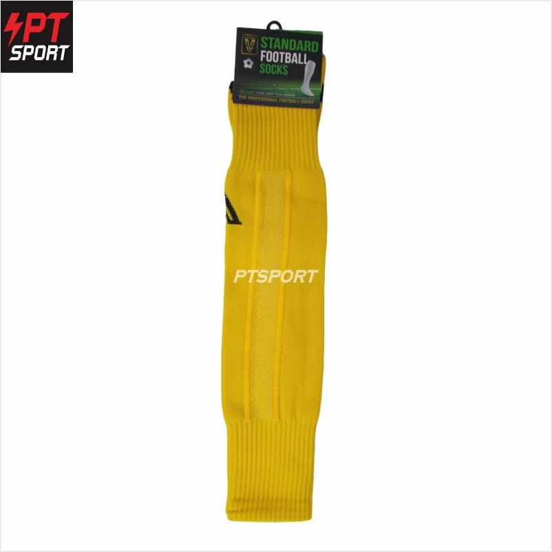 ถุงเท้ากีฬา ถุงเท้าฟุตบอลยาว VICTORY Standard Free Size  เหลือง