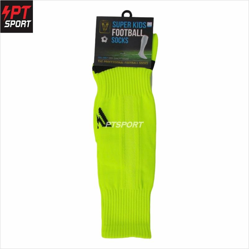 ถุงเท้ากีฬา ถุงเท้าฟุตบอลเด็ก VICTORY SUPERKIDS SIZE 6-12 ปี เขียว