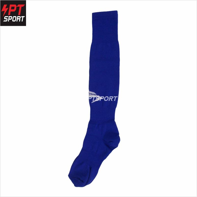 ถุงเท้าฟุตบอล  Eureka(ยูเรก้า)  ZEVS5002 น้ำเงินขาว