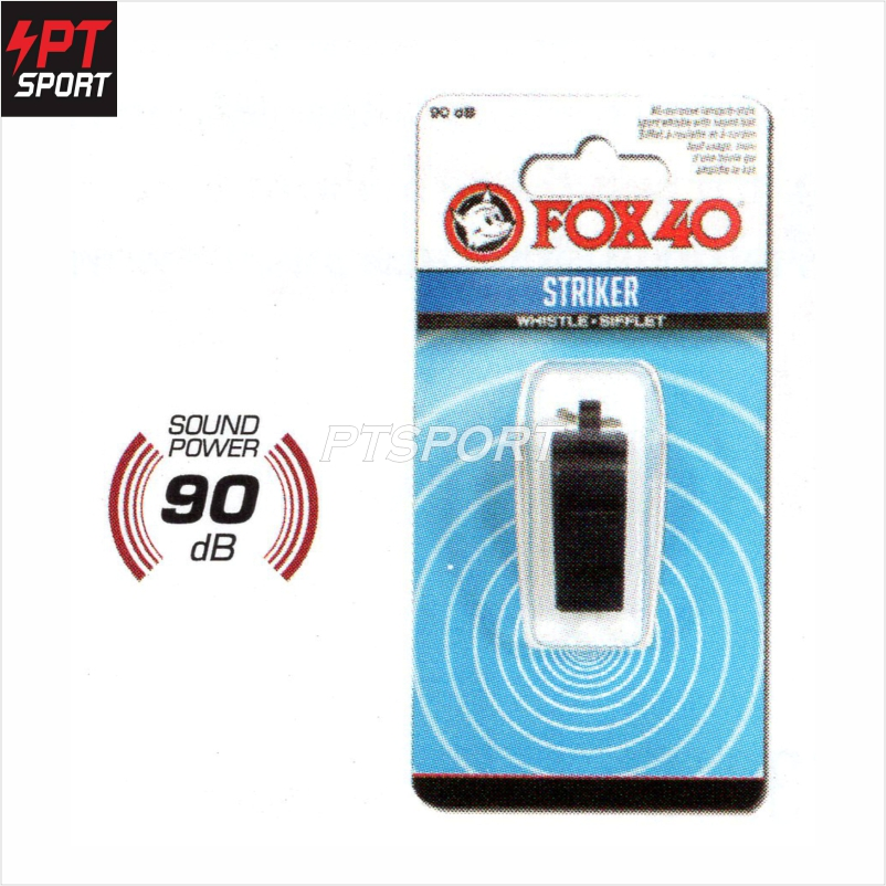 นกหวีด whistle FOX40 331911 สีดำ