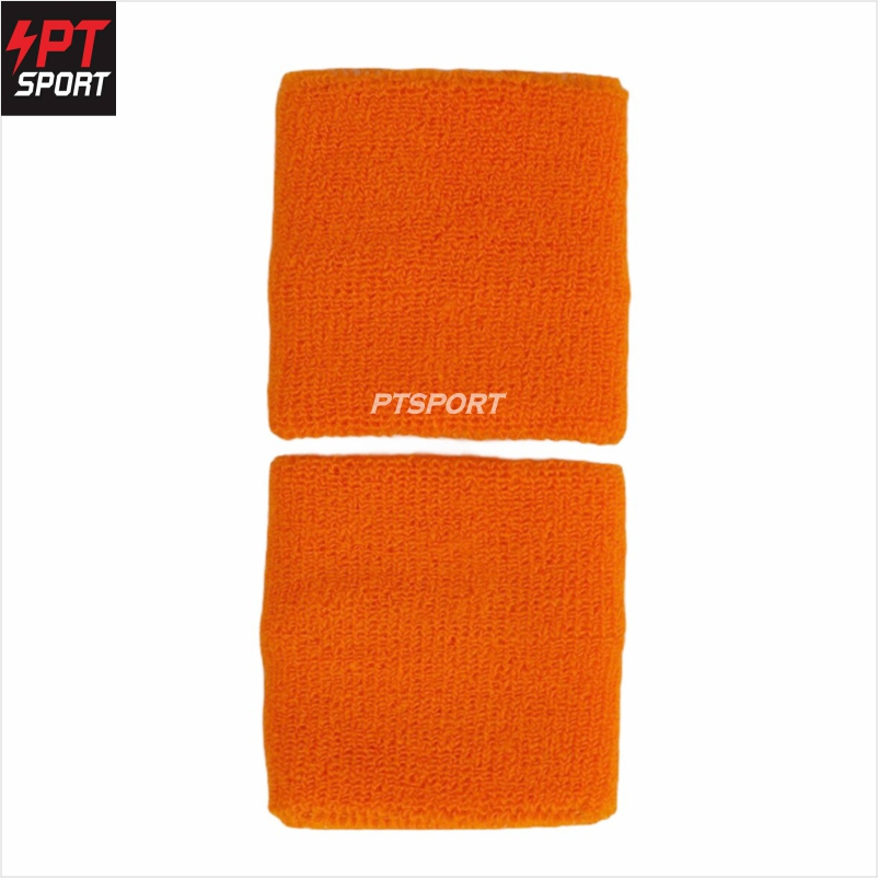 ผ้ารัดข้อมือซับเหงื่อ D STEP รุ่น AC-999 สีส้ม