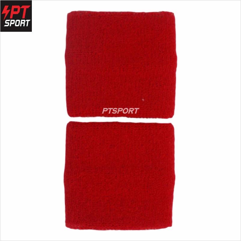 ผ้ารัดข้อมือซับเหงื่อ D STEP รุ่น AC-999 สีแดง