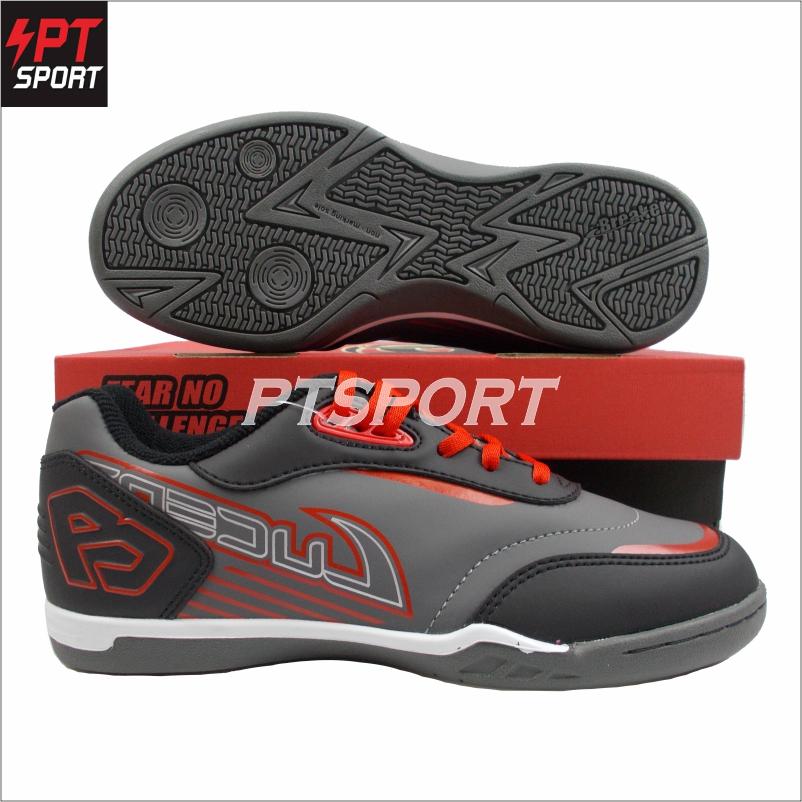 รองเท้าฟุตซอล BK1112 สีชาร์โคล