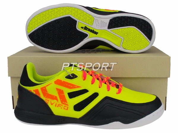 รองเท้ากีฬา รองเท้าฟุตซอล BREAKER BD-008 สีเลม่อน