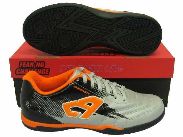 รองเท้ากีฬา รองเท้าฟุตซอล BREAKER BK-116 เทา