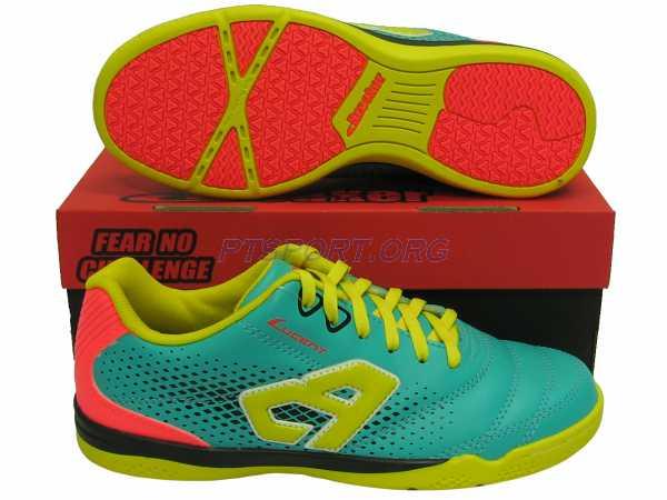 รองเท้ากีฬา รองเท้าฟุตซอล BREAKER BK-1207 เขียว