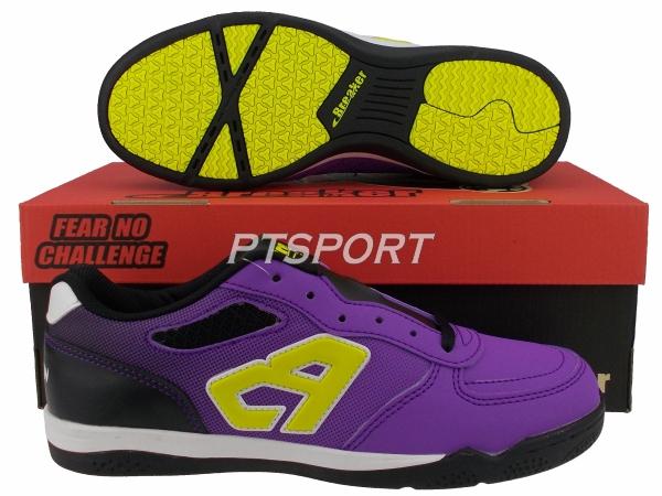 รองเท้ากีฬา รองเท้าฟุตซอล BREAKER BK-1213 ม่วง