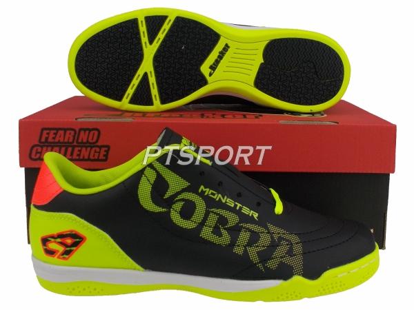 รองเท้ากีฬา รองเท้าฟุตซอล BREAKER BK1214 ดำเลม่อน