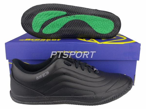 รองเท้ากีฬา รองเท้าฟุตซอล BREAKER BK-36 สีดำ