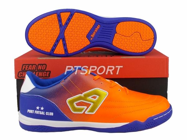 รองเท้ากีฬา รองเท้าฟุตซอล BREAKER BK1216 สีส้ม