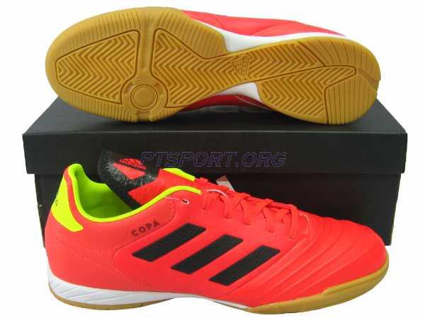 รองเท้ากีฬา รองเท้าฟุตซอล adidas DB-2450 COPA TANGO 18.3 IN แดง