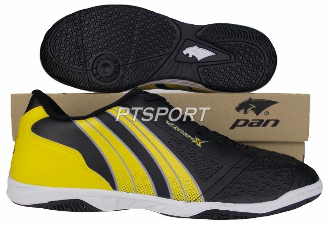 รองเท้ากีฬา รองเท้าฟุตซอล PAN PF-14AD ดำเหลืองAY