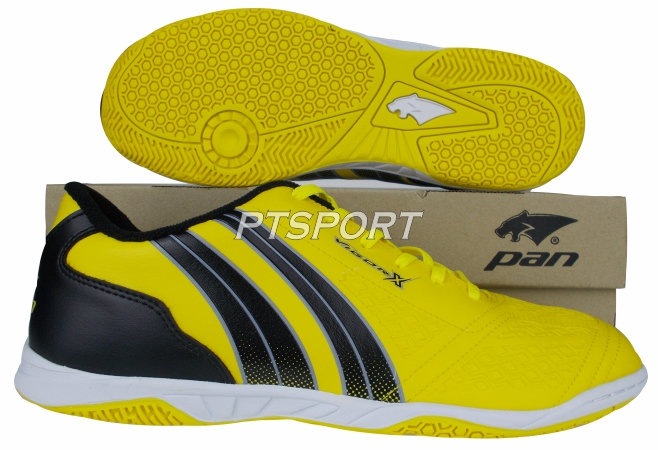 รองเท้ากีฬา รองเท้าฟุตซอล PAN PF-14AD เหลืองดำYA