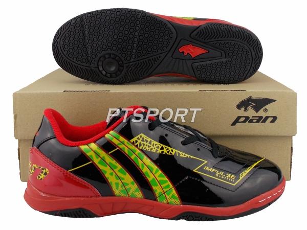 รองเท้ากีฬา รองเท้าฟุตซอล PAN PF-14P5 IMPULSE GRAFFITI ELVALOY ดำแดง