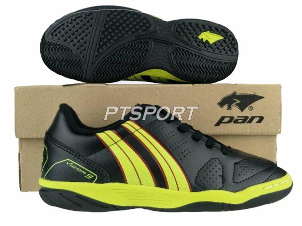 รองเท้ากีฬา รองเท้าฟุตซอลเด็ก PAN PF-14S5 ดำเหลืองAY