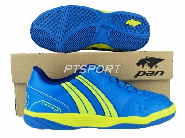 รองเท้ากีฬา รองเท้าฟุตซอลเด็ก PAN PF-14S5 น้ำเงินเหลืองBY
